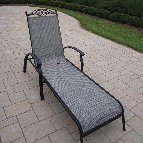 Basile Chaise Lounge by August Grove August Grove