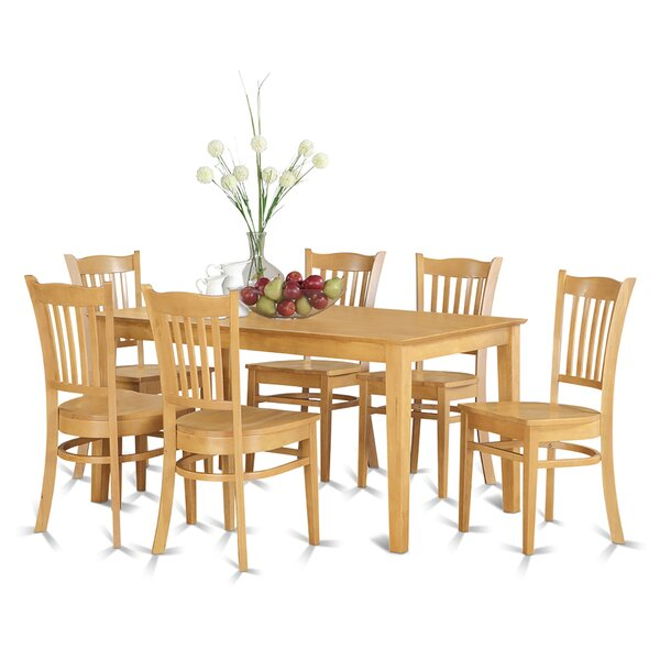 Alingtons 7 Piece Dining Set by Winston Porter Winston Porter
