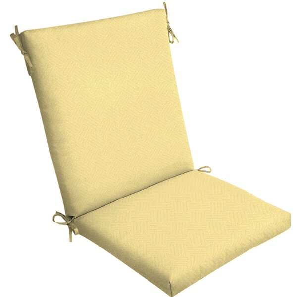 Texture Outdoor Lounge Chair Cushion by Rosecliff Heights