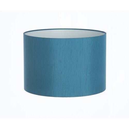Zylinderförmiger Lampenschirm Hashtag Home Farbe: Blaugrün| Größe: 23 cm H x 30 cm B x 30 cm T | Lampen > Lampenschirme und Füsse | Hashtag Home
