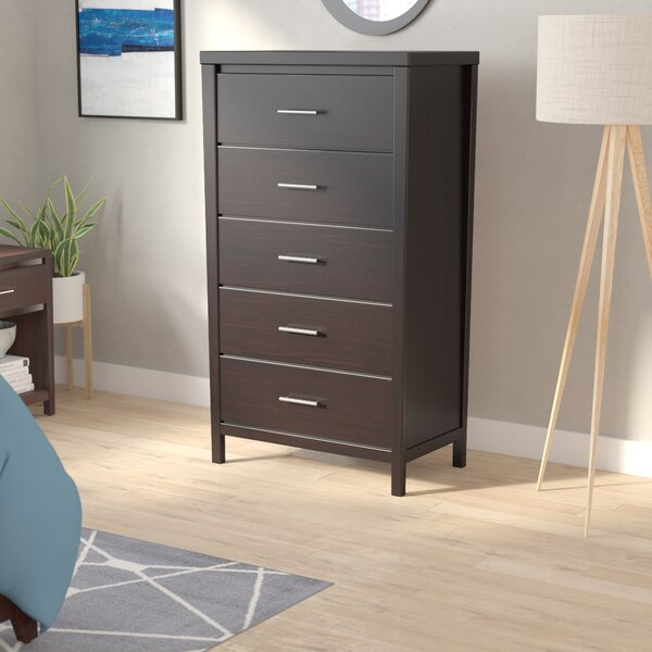 Dejon 5 Drawer Chest by Mistana