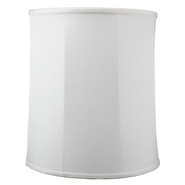 Premium 15 Linen Drum Lamp Shade by Home Concept Inc