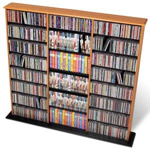 Deliah Triple Width Multimedia Storage Rack by Red Barrel Studio