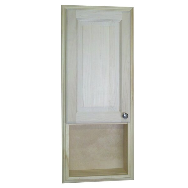 Baldwin 15.5 W x 37.5 H Recessed Cabinet by WG Wood Products
