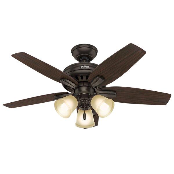 42 Newsome 5-Blade Ceiling Fan by Hunter Fan