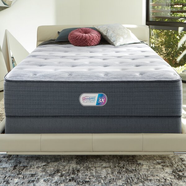 Beautyrest Platinum 14 Plush Innerspring Mattress and Box Spring by Simmons Beautyrest
