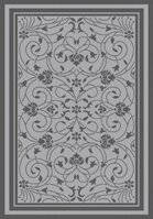 Onique Light Gray/Anthracite Indoor/Outdoor Area Rug by Darby Home Co