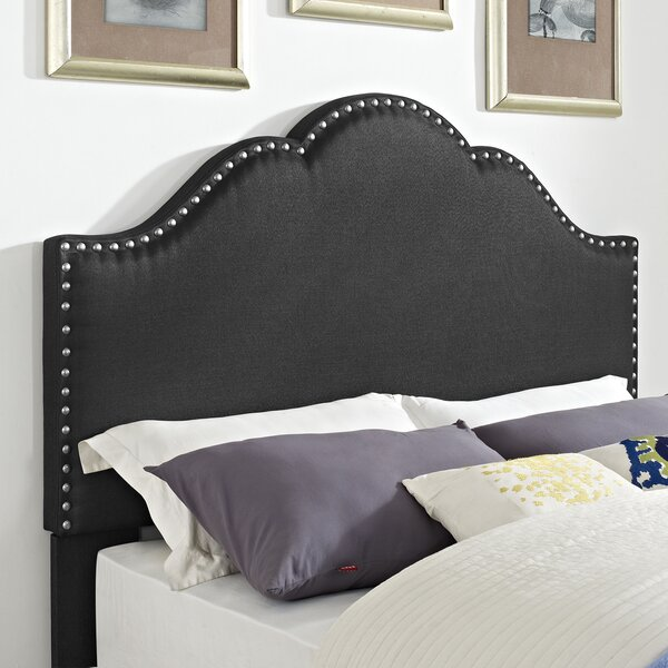 Parris Upholstered Panel Headboard by Alcott Hill