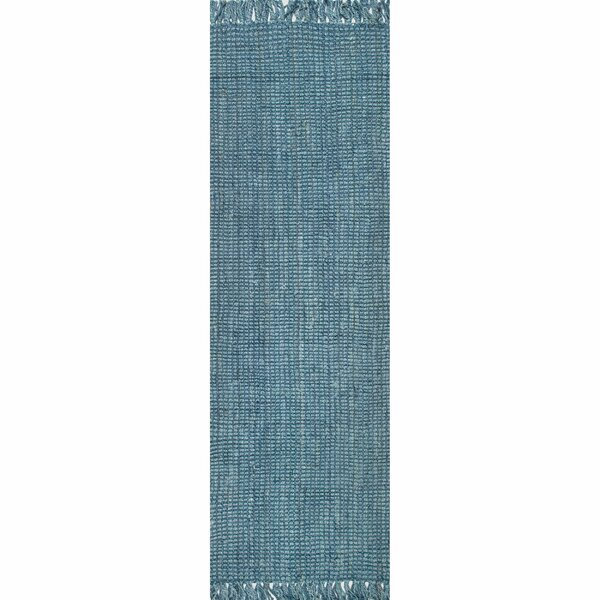 Caspian Hand-Woven Blue Area Rug by Beachcrest Home