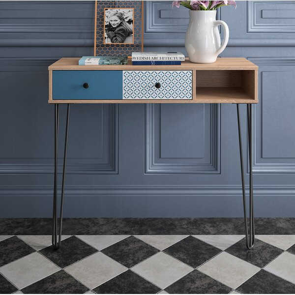 Ivy Bronx Black Console Tables