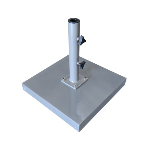 Stainless steel free standing Umbrella Base by Greencorner