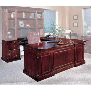 Bargain Flannagan Left Return U-Shape Executive Desk ByThree Posts
