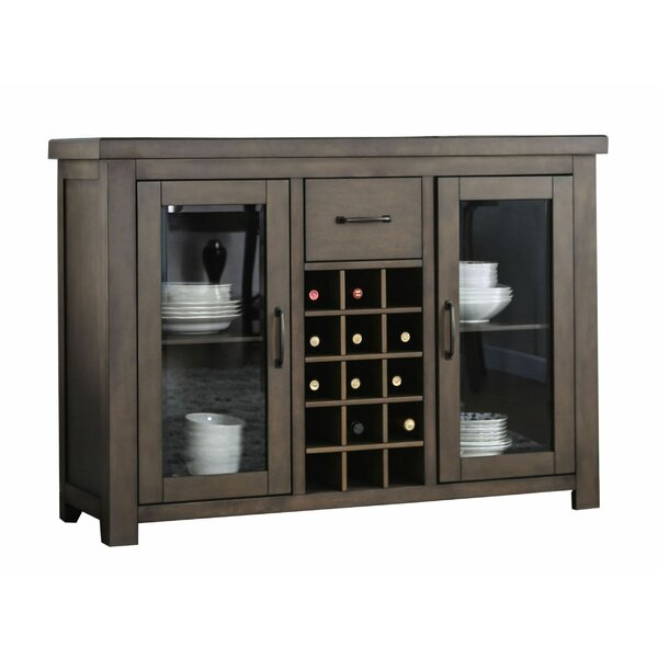 Algarin 54-inch Wide 1 Drawer Wood Server by Red Barrel Studio Red Barrel Studio