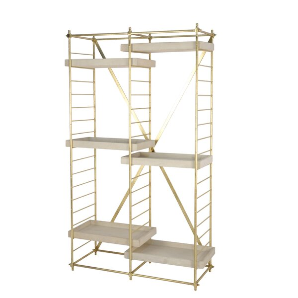 Frantz Etagere Bookcase By Everly Quinn