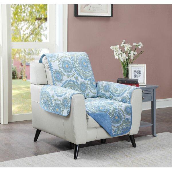 Starburst Box Cushion Armchair Slipcover By Winston Porter