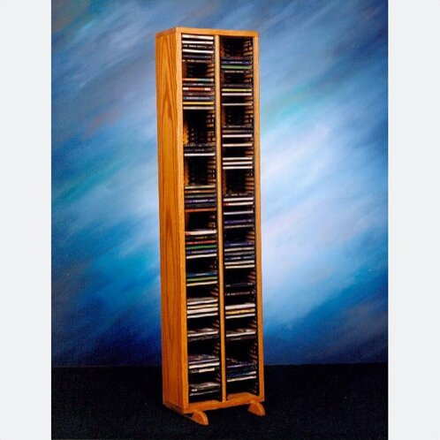 160 CD Multimedia Storage Rack By Rebrilliant