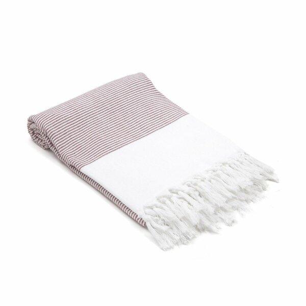 Diara Mini Stripes Didyma Turkish Beach Towel by Gracie Oaks