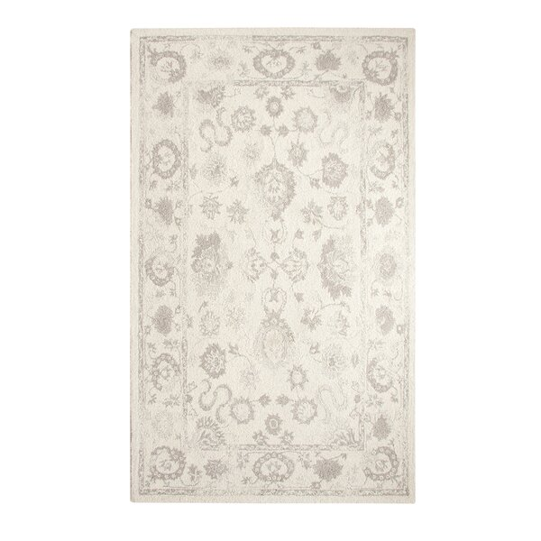Montoya Ivory Hand Woven Area Rug by Bungalow Rose