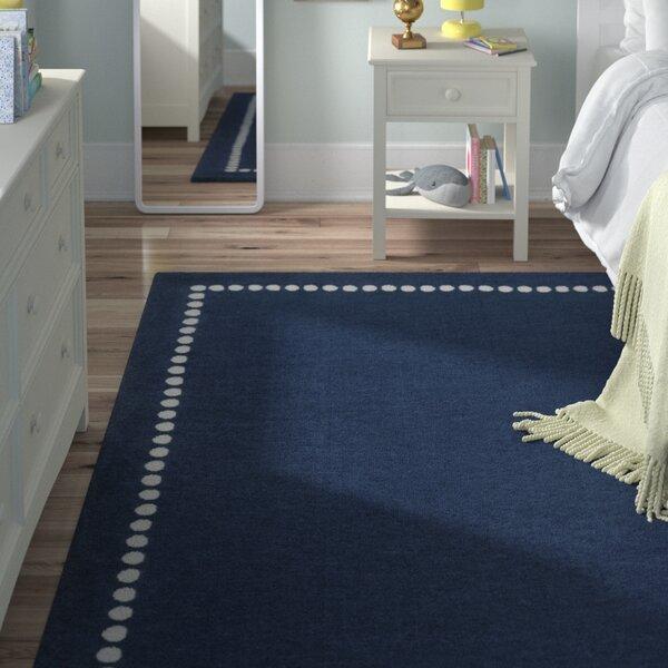 Navy Area Rug by Birch Lane™