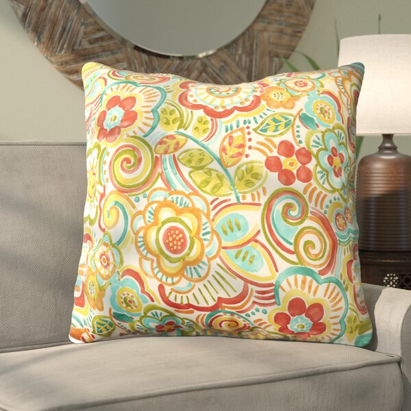 Annette Indoor/Outdoor Floor Pillow by Latitude Run