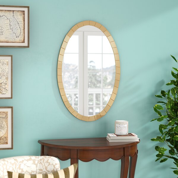 Wall Mirror by Three Posts