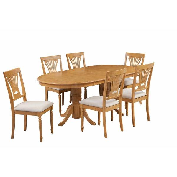 Devitt 7 Piece Extendable Dining Set by August Grove