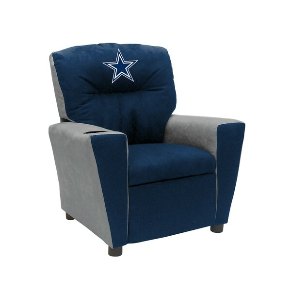 NFL Kids Recliner with Cup Holder by Imperial Inte