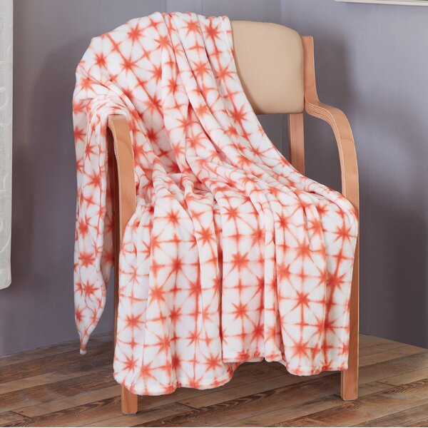 Celestine Printed Flannel Throw by Wrought Studio