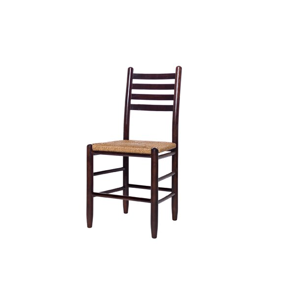 Yonkers Ladderback Solid Wood Dining Chair by August Grove