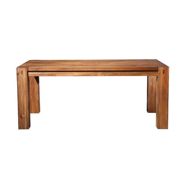 Wildes Mahogany Wood Leg Dining Table by Millwood Pines