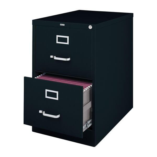 Scalise 2 Drawer Commercial Letter Size File Cabinet by Latitude Run