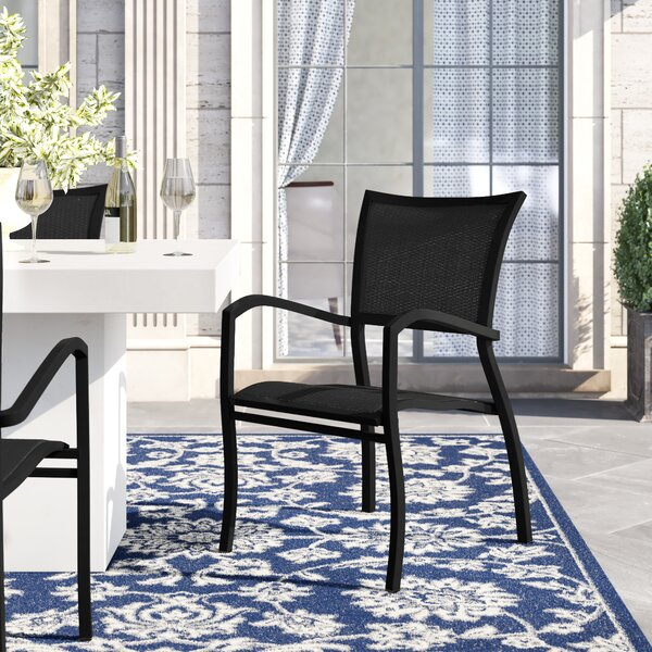 Aire Patio Dining Chair With Cushion (Set Of 2) By Summer Classics