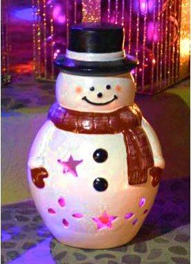 Mr. Snowman Luminary by Ravenna