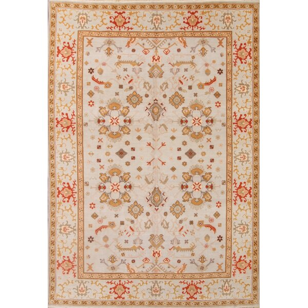 One-of-a-Kind Myrtlewood Agra Oriental Hand-Knotted Wool Red Area Rug by Astoria Grand