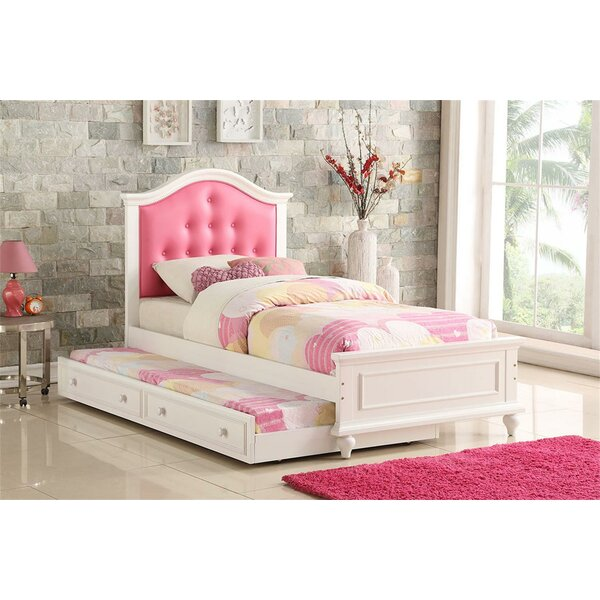 Marcellus Twin Platform Bed with Trundle by Harriet Bee