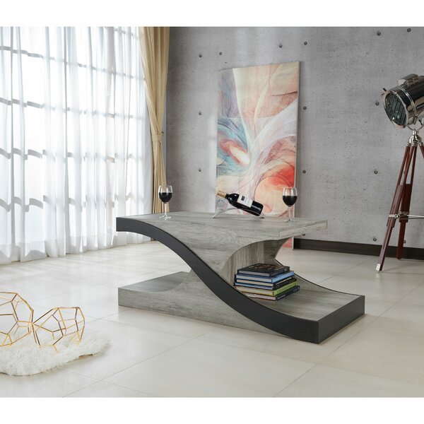 Arsen Abstract Coffee Table With Storage By Orren Ellis