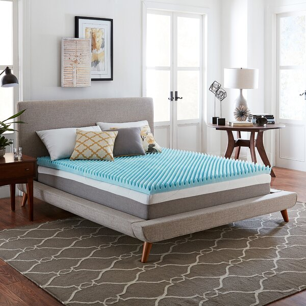 Wayfair Basics 3 Textured Gel Memory Foam Mattress Topper by Wayfair Basics™