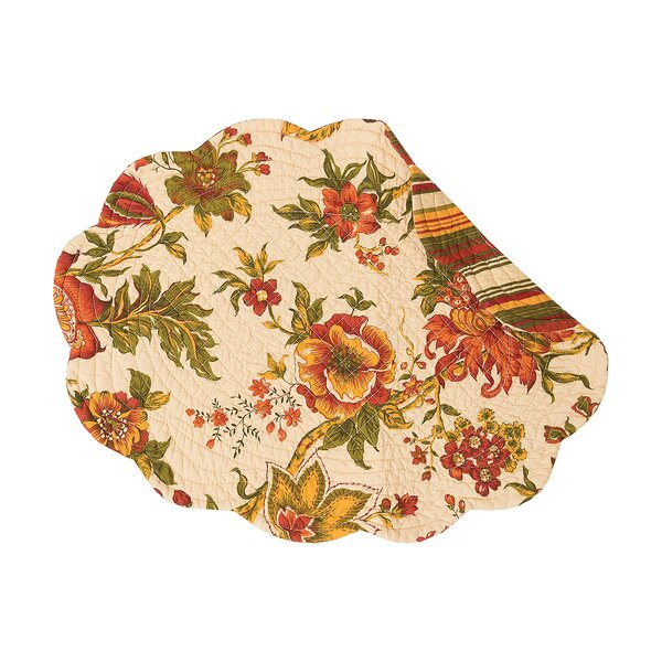 Galesburg Oval 19 Placemat (Set of 6) by Charlton Home