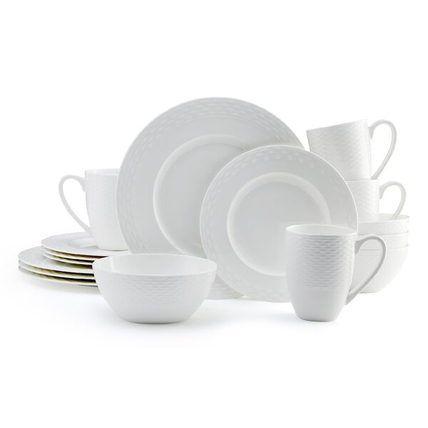 Ortley 16 Piece Dinnerware Set, Service for 4 (Set of 2) by Mikasa