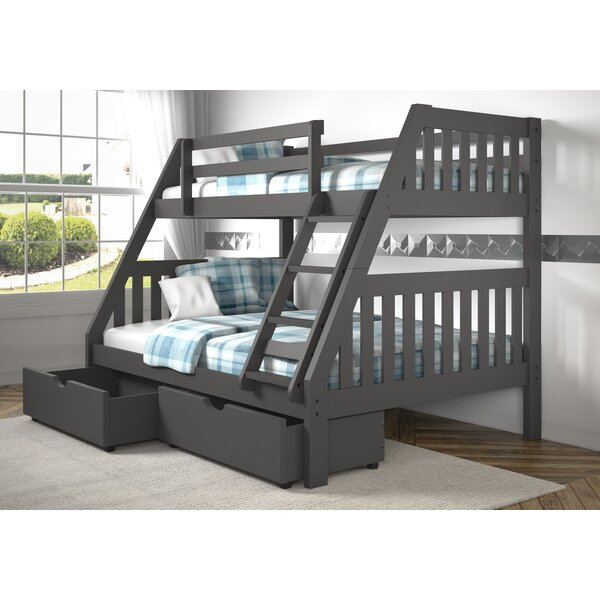 Dubbo Bunk Bed with Drawers by Harriet Bee