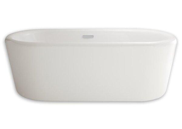 Kipling Oval 69.625 x 31.75 Freestanding Soaking Bathtub by American Standard