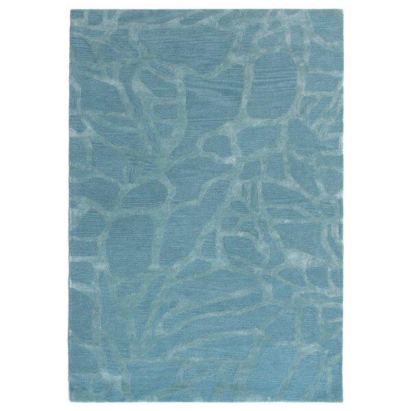 Gaydos Hand-Tufted Blue Area Rug by Brayden Studio