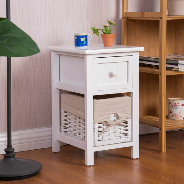 Hillsboro 1 Drawer Nightstand by August Grove