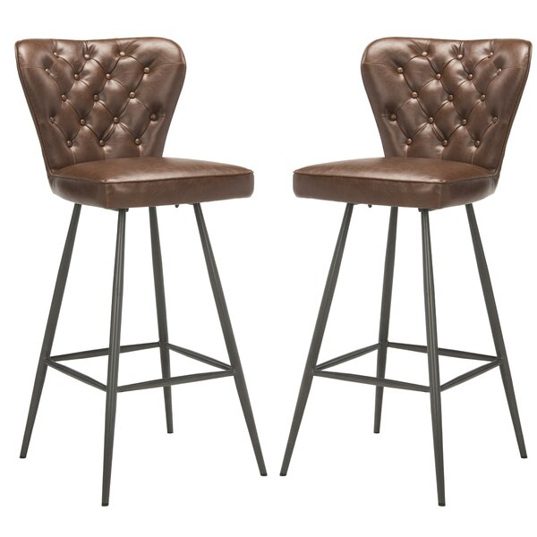 Corentin Bar Stool (Set of 2) by 17 Stories