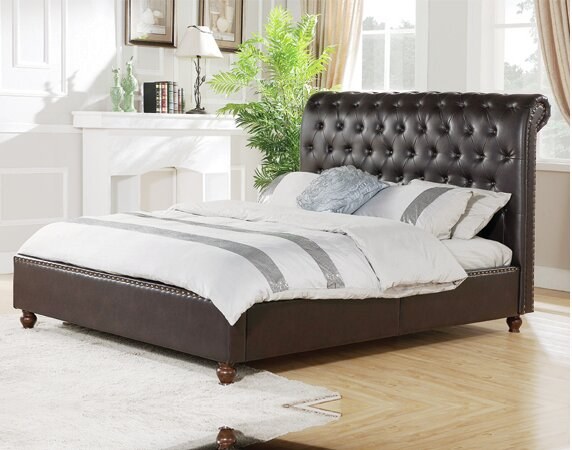 Fitzgibbon Upholstered Platform Bed by Darby Home Co