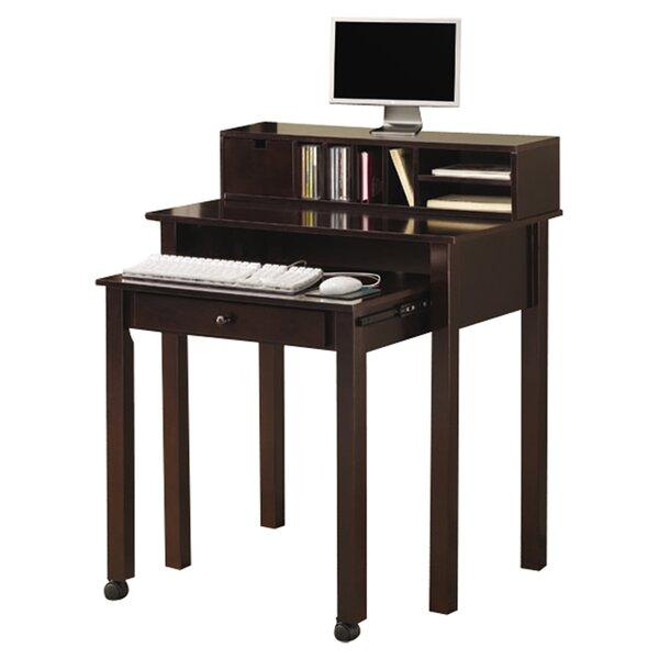 Wymer Secretary Desk with Hutch by Alcott Hill