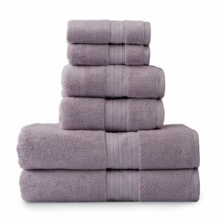 Shelbyville Luxury 6 Piece Turkish Cotton Towel Set