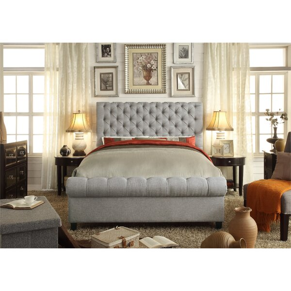 Lilyana Queen Upholstered Standard Bed by Alcott Hill