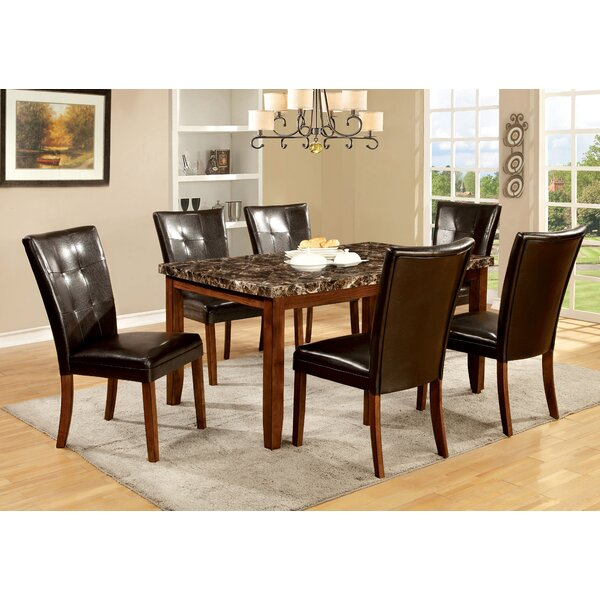 Madrid 7 Piece Dining Set by Hokku Designs Hokku Designs