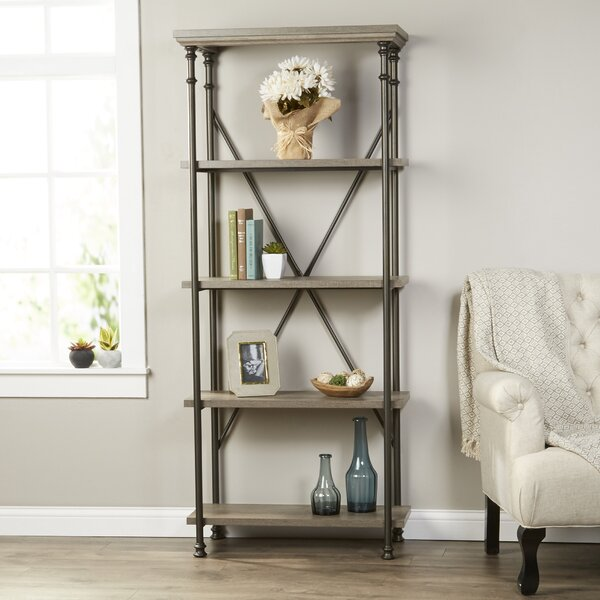 Oakside Etagere Bookcase by Three Posts